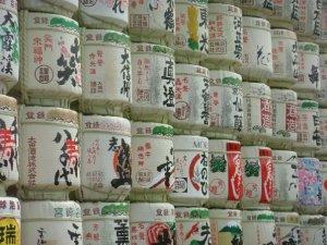 Sake barrels - Yoyogi Park
