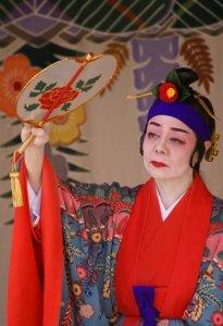 Traditional dancing - Naha