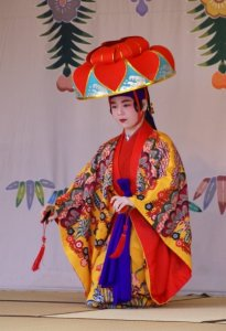 Traditional dancing - Shuri Castle