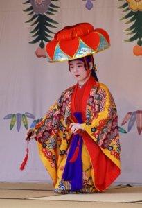 Traditional dancing - Shuri Castle