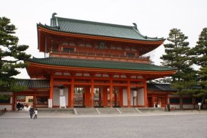 Heian-jingu Shrine - Kyoto