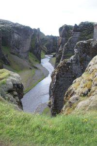 Fjadrargljufur canyon