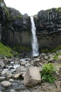 Svartifoss in Vatnajökull National Park